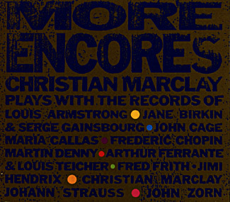 Marclay, Christian: More Encores (Recommended Records)