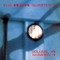 Various Artists: ReR Quarterly Volume 4 Number 1