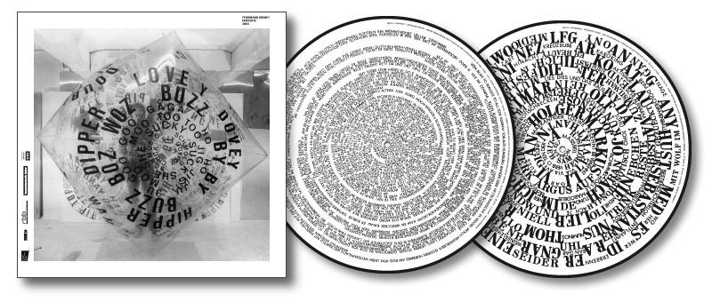 Kriwet, Ferdinand : Hortexte Radio Texts Zwei [VINYL  2 LP Picture Discs] (Edition Rz)