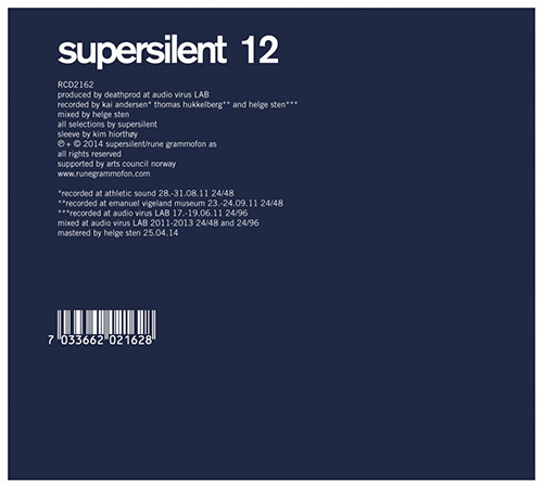 Supersilent: 12 (Rune Grammofon)