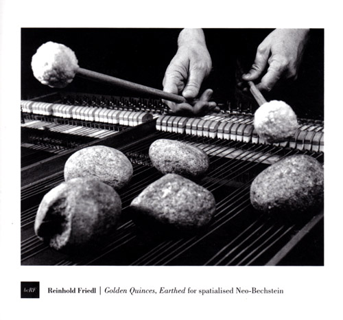 Friedl, Reinhold: Golden Quinces, Earthed For Spatialised Neo-Bechstein (Bocian)