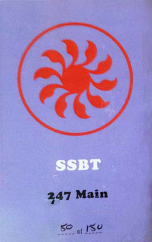SSBT (Chris Cogburn, Steve Jansen & Parham Daghighi): 247 Main [CASSETTE with download code] (Astral Spirits)