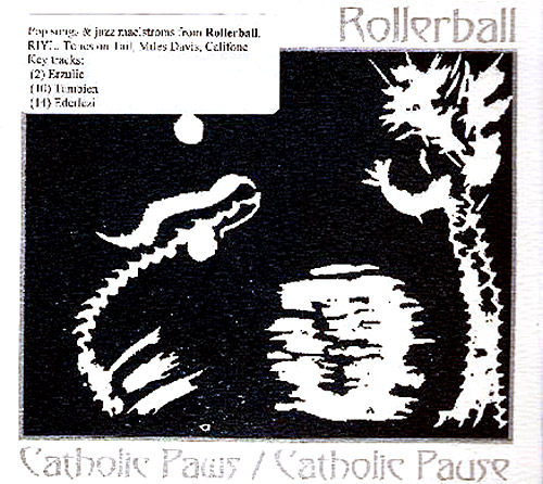 Rollerball: Catholic Paws/Catholic Pause (Silber)