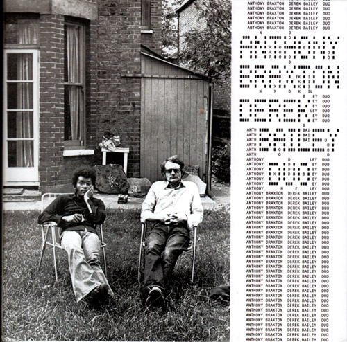 Braxton, Anthony / Derek Bailey: First Duo Concert (London 1974) (Emanem)