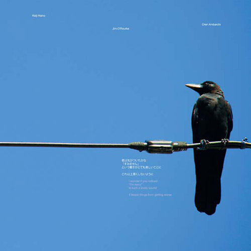 Haino, Keiji / Jim O'Rourke / Oren Ambarchi: I Wonder If You Noticed... [VINYL 2 LPs] (Black Truffle)