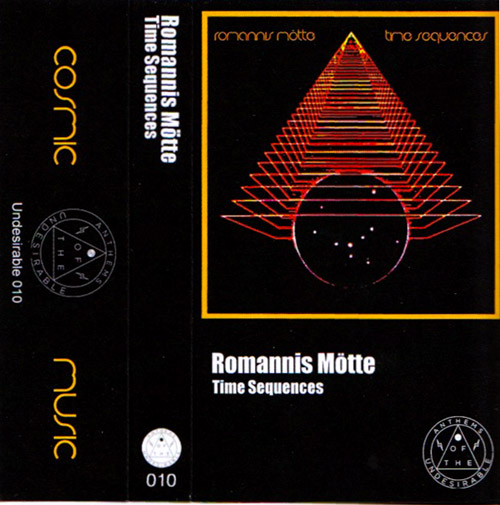 Romannis Motte: Time Sequences [CASSETTE] (Anthems Of The Undesirable)