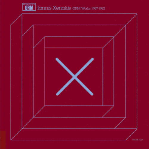 Xenakis, Iannis: GRM Works 1957-1962 [VINYL REPRESS] (Recollection GRM)