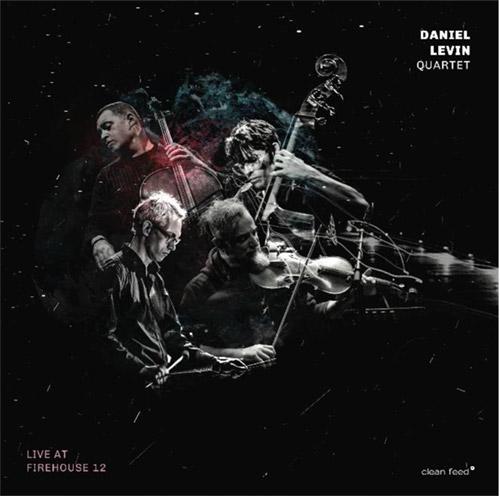 Levin, Daniel  Quartet (Levin / Maneri / Moran / Zetterberg): Live at Firehouse 12 (Clean Feed)