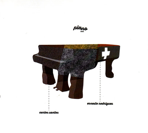 Rodrigues, Ernesto / Carlos Santos: Piano (Creative Sources)