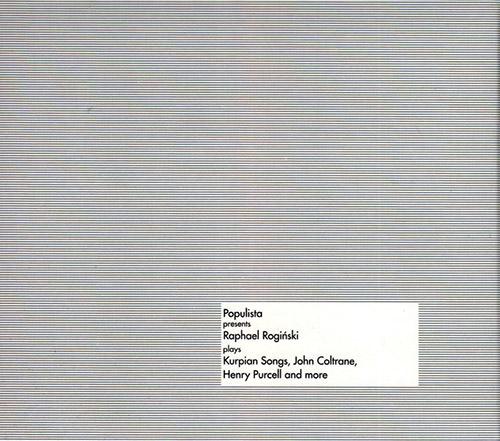 Roginski, Raphael : Populista Presents BOX [3 CDs + POSTER] (Bolt)