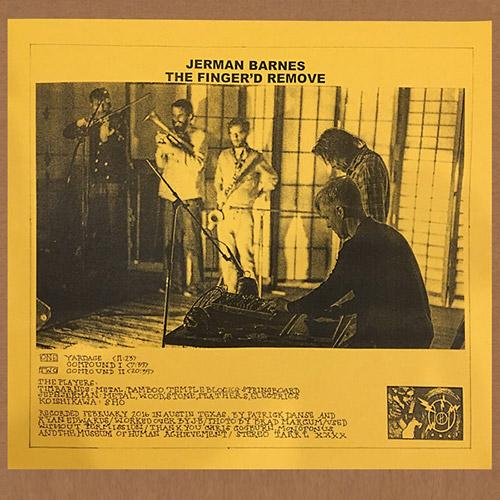 Jerman / Barnes: The Finger'd Remove [VINYL] (Feeding Tube Records)