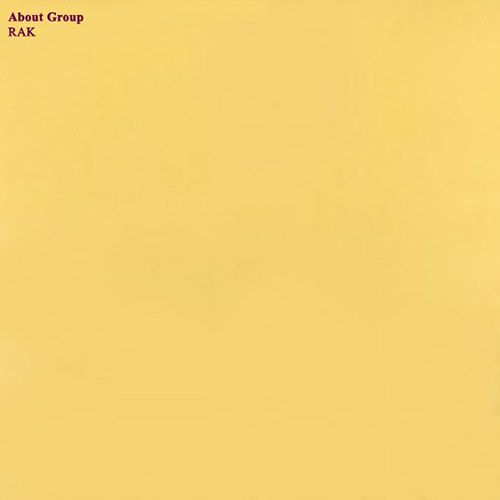 About Group (Mukai / Clervaux / Coxon / Thomas / Taylor): RAK [VINYL] (Treader)
