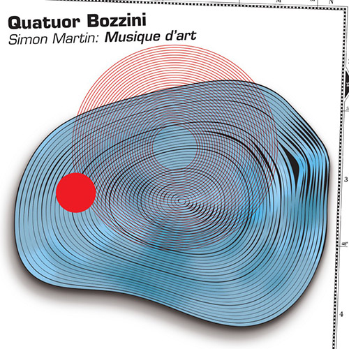 Quatuor Bozzini: Simon Martin: Musique d'art (Collection QB)