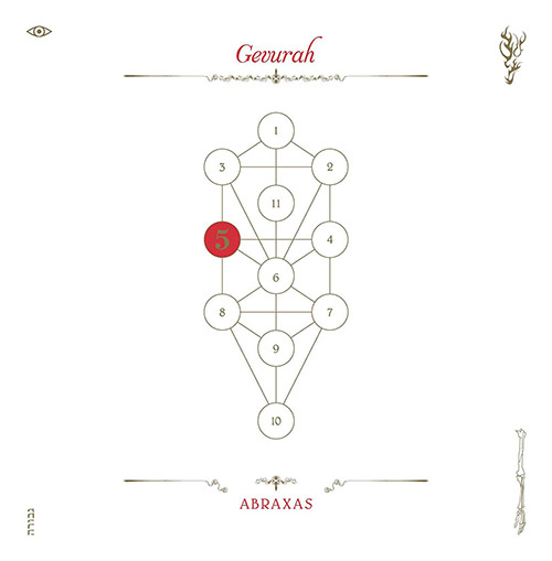 Abraxas / John Zorn : The Book Beri'ah Vol 5: Gevurah (Tzadik)