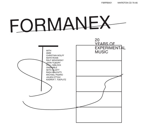 Formanex w/ AMM / Christian Wolff / Keith Rowe / Ralf Wehowsky / John Tilbury / Phill Niblock / ONse (Mikroton Recordings)