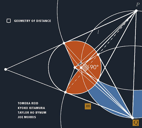 Reid, Tomeka / Kyoko Kitamura / Tyler Ho Bynum / Joe Morris: Geometry Of Distance (Relative Pitch)