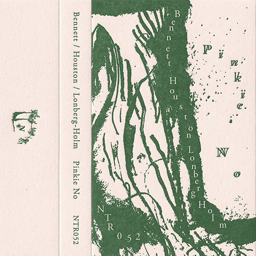 Bennett, Ben / Zoots Houston / Fred Lonberg-Holm: Pinkie No [CASSETTE + DOWNLOAD] (Notice Recordings)