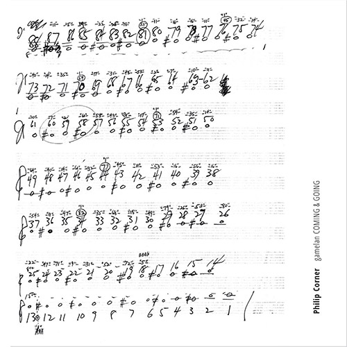 Corner, Philip: Gamelan Coming & Going (ANTS Records)