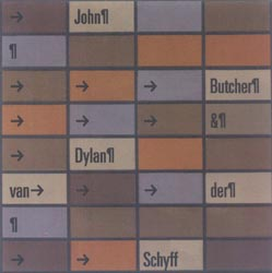 Butcher, John / Dylan van der Schyff: Points, Snags and Windings (Meniscus)