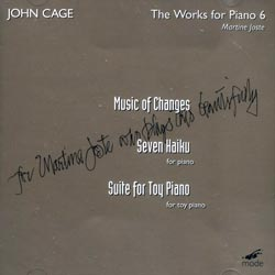 Cage, John: The Works For Piano 6 (Mode Records)
