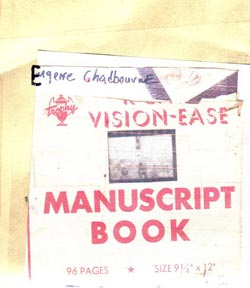 Chadbourne, Eugene: Vision-Ease (Chadula)