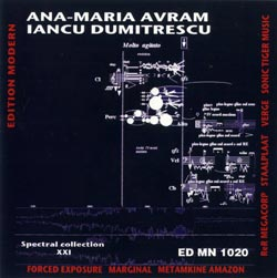 Avram, Ana-Maria / Dumitrescu, Iancu: Spectral Collection XXI (Edition Modern)