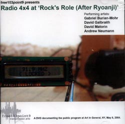 Radio 4x4: At 'Rock's Role (After Ryoanji)' [DVD] (free103.9)