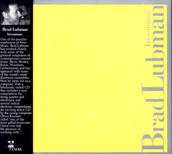 Lubman, Brad: Insomniac <i>[Used Item]</i>