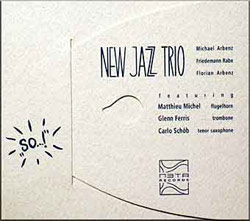"New Jazz Trio: ""SO...!"" <i>[Used Item]</i>"