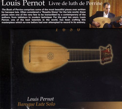 Pernot, Louis: Livre de luth de Perrine (Ad Hoc Records)