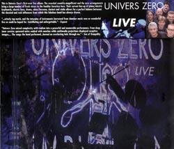 Univers Zero: Live (Cuneiform)