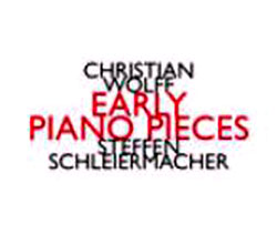 Wolff, Christian: Early Piano Pieces <i>[Used Item]</i>