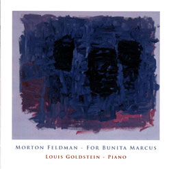 Morton Feldman: For Bunita Marcus (Nuscope)