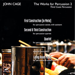 Cage, John: The Works for Percussion 2