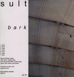 Sult: Bark (Bug Incision Records)