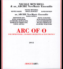 Mitchell, Nicole & an_Arche NewMusic Ensemble: Arc Of O For Improvisers, Chamber Orchestra & Electro (RogueArt)