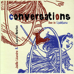 Leandre, Joelle & Lauren Newton: Conversations live in Ljubljana (Not Two Records)