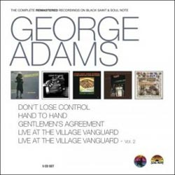 Adams, George: The Complete Remastered Recordings [5 CD BOX] (Black Saint/Soul Note)