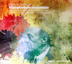 Cotinaud, Francois Klangfarben Ensemble : Monologue de Schoenberg [CD + DVD] <i>[Used Item]</i>
