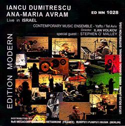 Dumitrescu, Iancu / Ana-Maria Avram: Live in Israel (Edition Modern)