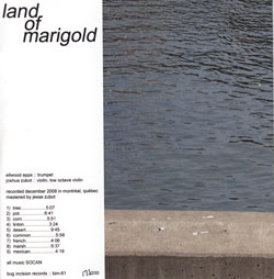 Epps, Ellwood / Joshua Zubot: Land of Marigold (Bug Incision Records)