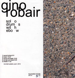 Robair, Gino: Solo Drums with Ebow (Bug Incision Records)