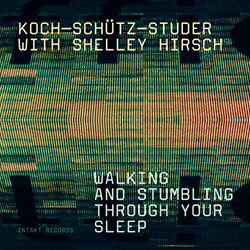 Koch-Schutz-Studer With Shelley Hirsch: Walking And Stumbling Through Your Sleep (Intakt)