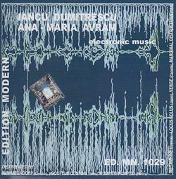 Dumitrescu, Iancu / Ana-Maria Avram: Electronic Music (Edition Modern)