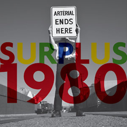 "Surplus 1980: Arterial Ends Here [10"" VINYL]"