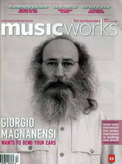 MusicWorks: #117 Winter 2013 [MAGAZINE + CD] (Musicworks)