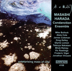 Harada Condanction Ensemble, Masashi: Enterprising Mass of Cilia (Emanem)