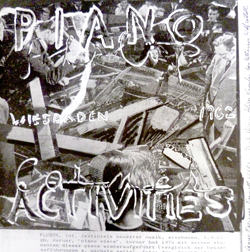 Corner, Philip: Piano Activities [VINYL]