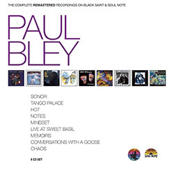 Bley, Paul: The Complete Remastered Recordings on Black Saint & Soul Note [9 CD BOX]