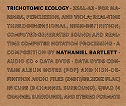 Bartlett, Nathaniel: Trichotomic Ecology [CD + DVD] <i>[Used Item]</i> (Sound-Space Audio Lab)